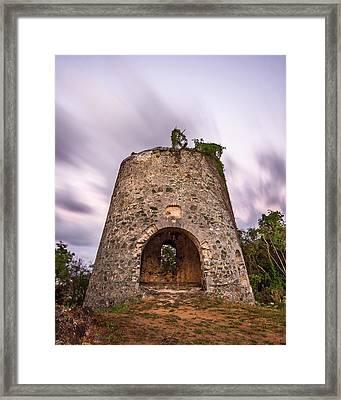 Peace Hill Sugar Mill Framed Print