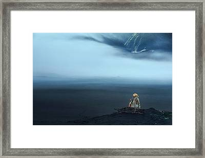 Peace In Silence Framed Print by Dodyherawan