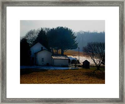 Peace In The Valley Framed Print by Gordon Beck