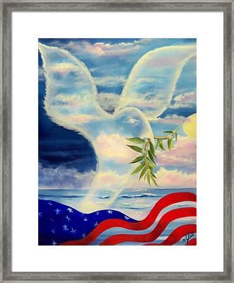Peace Framed Print by Joni McPherson