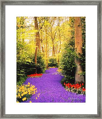 Peace, Like A River Framed Print