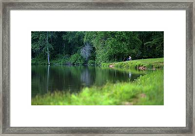 Framed Print featuring the photograph Peace by Lori Coleman