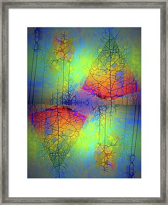Peace, Love And Happiness Framed Print by Tara Turner