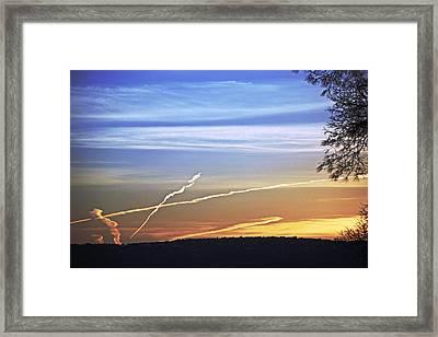Peace Framed Print by M Ryan