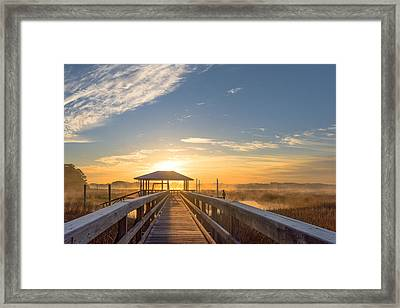 Peace Framed Print by Margaret Palmer