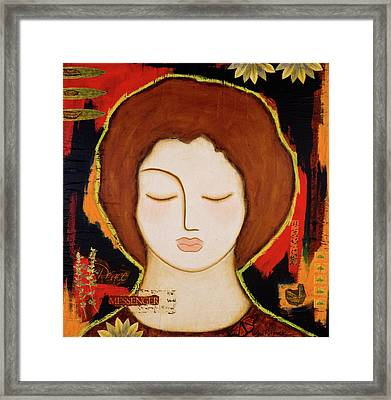 Peace Messenger Framed Print
