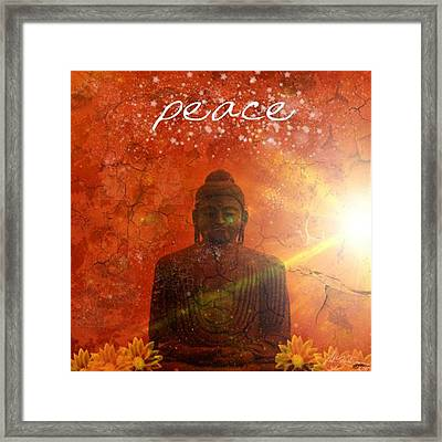 Peace Framed Print by Michelle Foster
