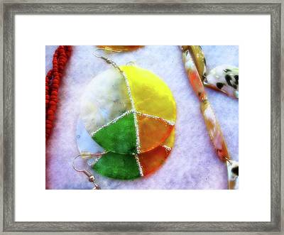 Peace Framed Print by Molly McPherson