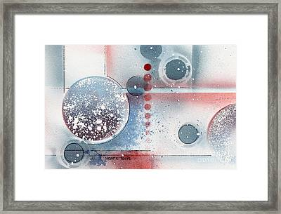 Peace Framed Print by Monte Toon