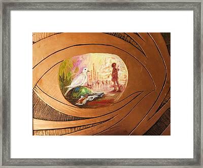 Peace Framed Print by Nduka f Onyia