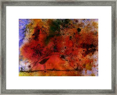 Peace Framed Print by Neva Spell