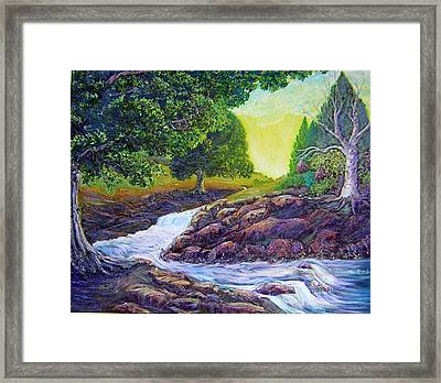 Peace Of Day Framed Print