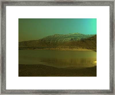 Peace Of Nature Framed Print by Archana Dehadrai