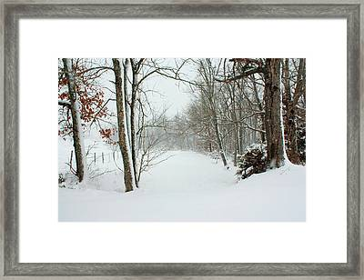 Peace On Earth Framed Print by Angela Comperry