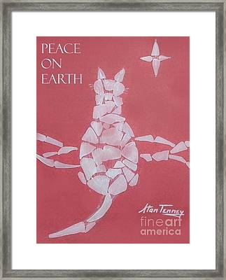 Peace On Earth Framed Print by Stan Tenney