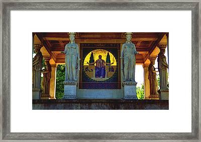 Peace Pavilion Framed Print by Kevin Smith