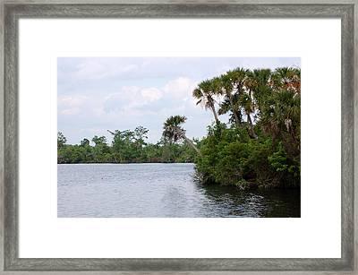Peace River Framed Print by Steven Scott