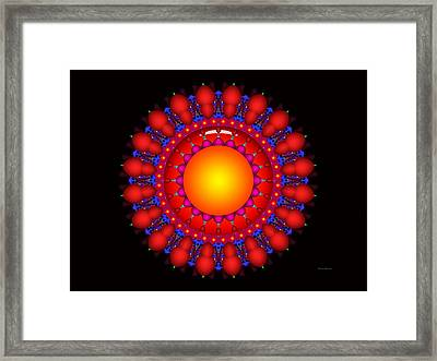 Framed Print featuring the digital art Peace by Robert Orinski