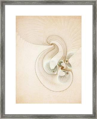Peace Framed Print by Talasan Nicholson
