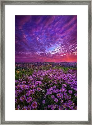 Peace That Surpasses All Understanding Framed Print
