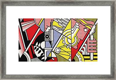 Peace Through Chemistry I Framed Print