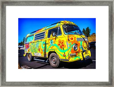Peace Vw Framed Print