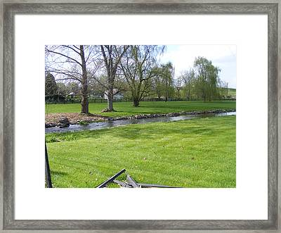 Peaceful Framed Print by Adam Cornelison