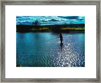Peaceful Afternoon Framed Print