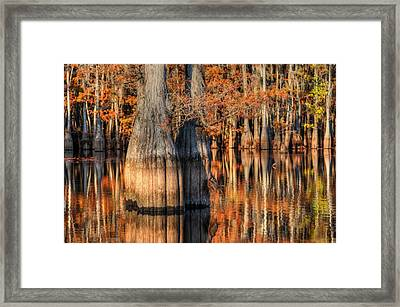 Peaceful Autumn Afternoon Framed Print