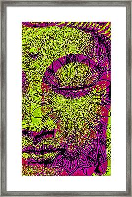 Peaceful Buddha Framed Print by Brian Broadway