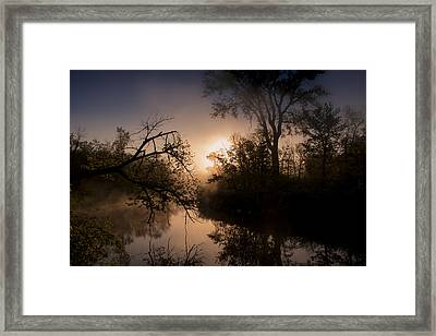 Framed Print featuring the photograph Peaceful Calm by Annette Berglund