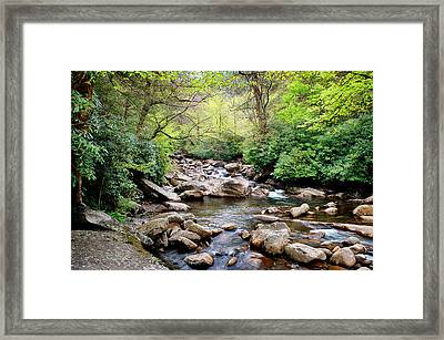 Peaceful Framed Print by Cheryl Davis