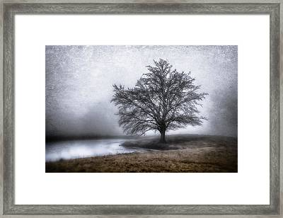 Peaceful Country Setting Framed Print