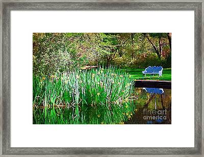 Framed Print featuring the photograph Peaceful by Donna Bentley