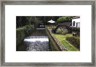 Peaceful Escape Framed Print