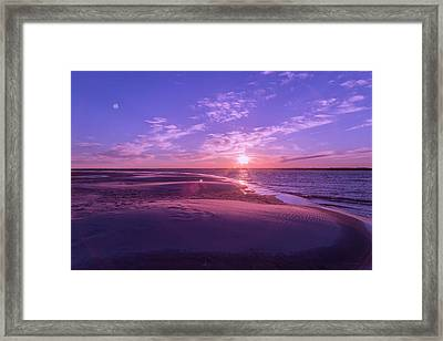 Peaceful Evening Framed Print by Betsy Knapp