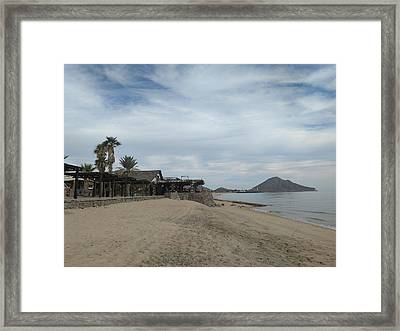 Peaceful Evening Framed Print by Staci Black