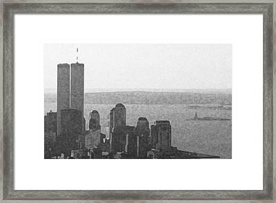 Peaceful Harbor Framed Print by Richard Gerken