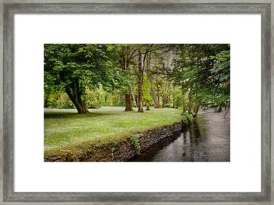 Peaceful Ireland Landscape Framed Print by Cheryl Davis