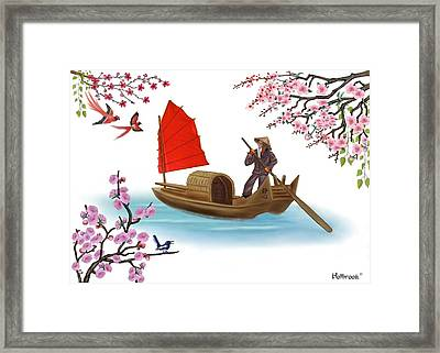Peaceful Journey Framed Print by Glenn Holbrook