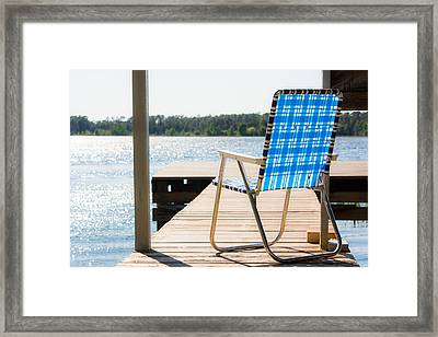 Peaceful Light Horizontal Framed Print by Shelby Young