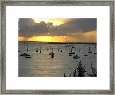Peaceful Framed Print by Michael Albright
