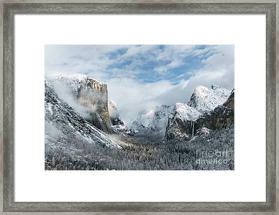 Peaceful Moments - Yosemite Valley Framed Print