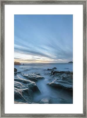 Framed Print featuring the photograph Peaceful Ocean by Cliff Wassmann