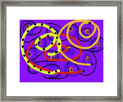 Peaceful Passion In Memories Framed Print