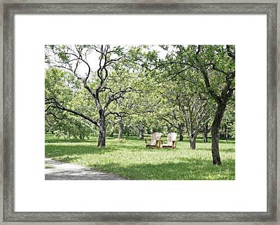 Peaceful Place To Rest Framed Print by Brooke T Ryan