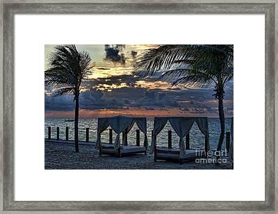 Peaceful Playa Framed Print