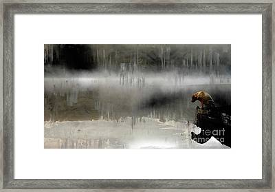 Peaceful Reflection Framed Print