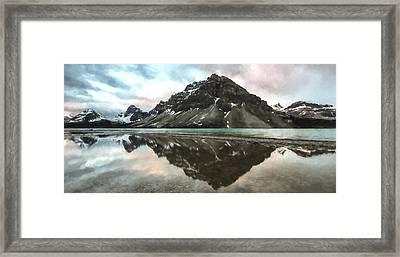 Peaceful Reflection II Framed Print