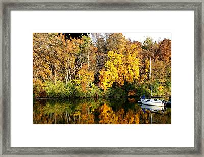 Peaceful Reflections Framed Print by Bruce Bley